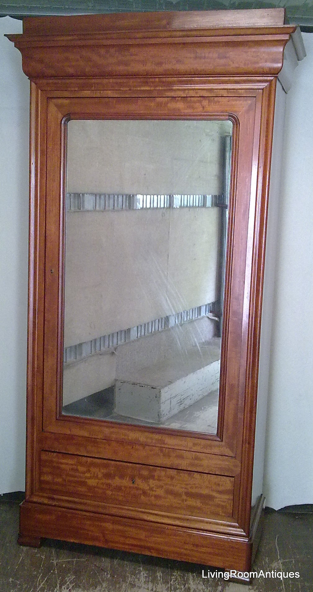 Spiegelschrank Spät-Biedermeier