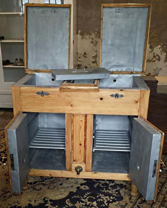 Kühlschrank/Eisschrank 1890/1900